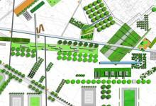 Projekt parku miejskiego i przestrzeni rekreacyjnych w Staszowie