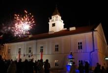 Oficjalne otwarcie wieży ratuszowej w Sieniawie