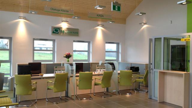 Otwarcie nowego budynku Banku Spółdzielczego w Skawie