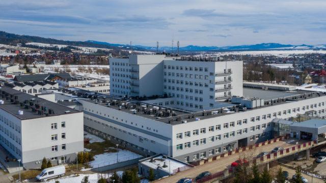 Modernizacja Podhalańskiego Szpitala Specjalistycznego im. Jana Pawła II w Nowym Targu ukończona