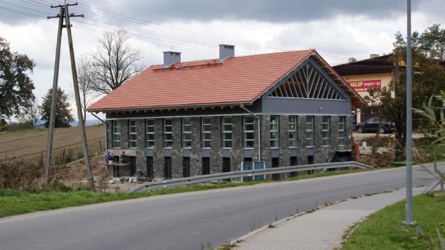 Budowa filii Banku Spółdzielczego w Skawie