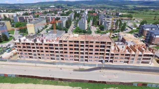 Budowa budynku mieszkalnego wielorodzinnego w Nowym Targu